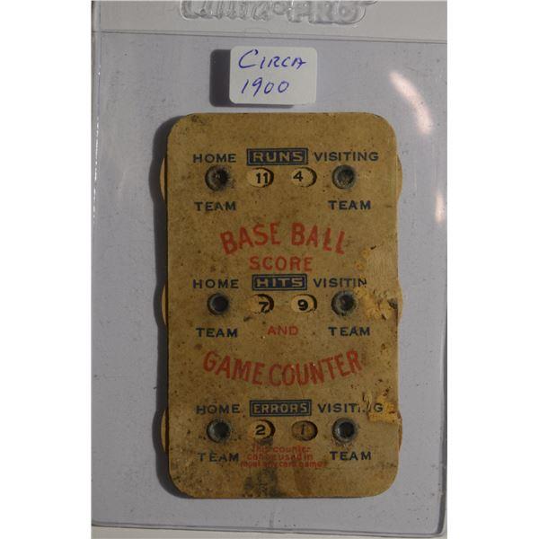 Vinatge Game Counter Circa 1900-1940
