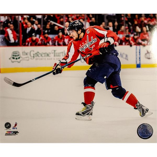 (21) Alex Ovechkin 8x10 Official NHL Photo