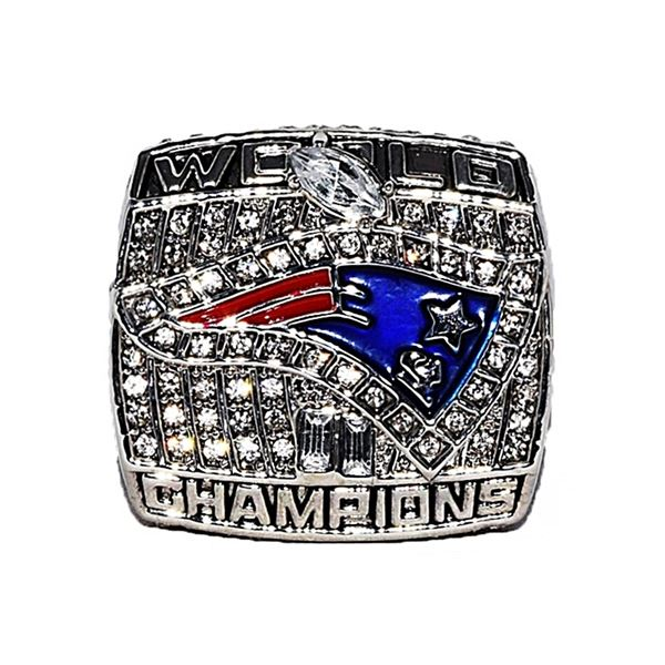 2001 New England Patriots Tom Brady Replica Ring