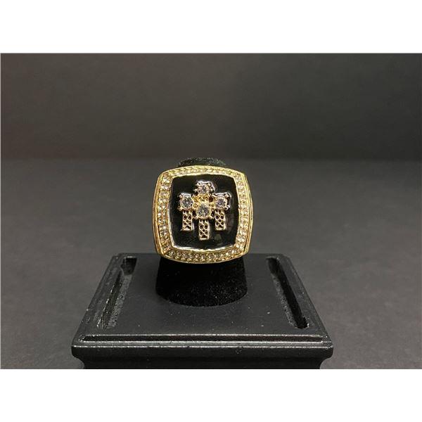 """CHICAGO BULLS 1998 NBA FINALS CHAMPIONSHIP REPLICA RING """"JORDAN"""""""