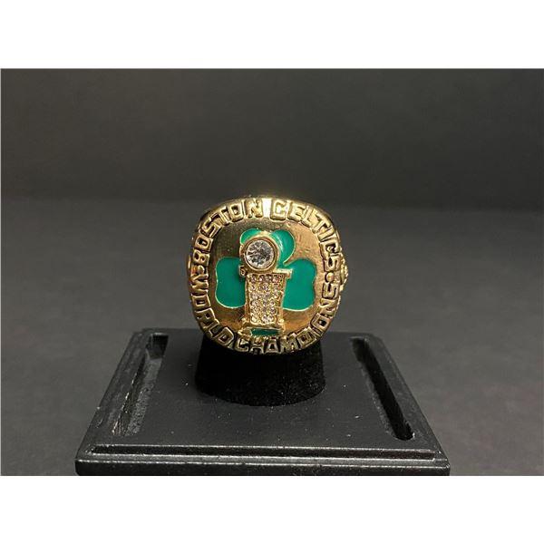 "BOSTON CELTICS 1986 NBA WORLD CHAMPIONSHIP REPLICA RING ""BIRD"""