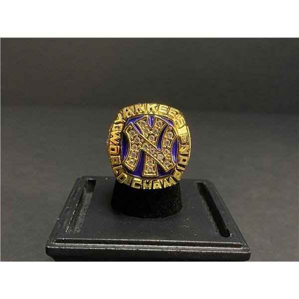 """NEW YORK YANKEES 1977 MLB WORLD SERIES CHAMPIONSHIP REPLICA RING """"MUNSON"""""""