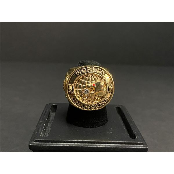 """CHICAGO CUBS 1907 MLB NATIONAL LEAGUE CHAMPIONSHIP REPLICA RING """"CUBS"""""""
