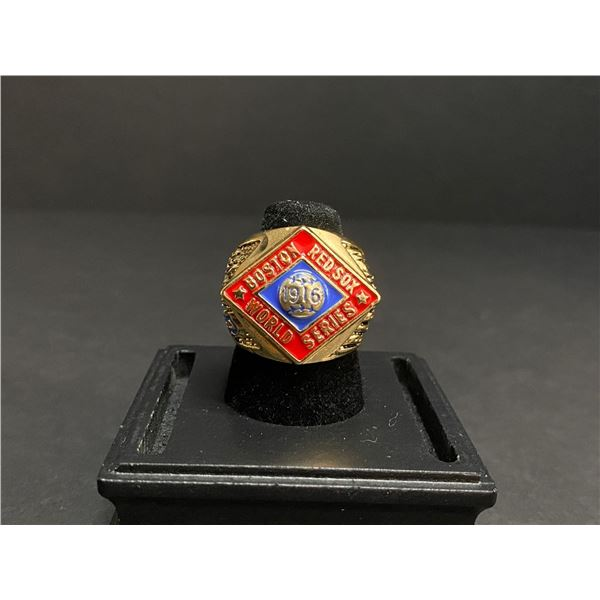 "BOSTON RED SOX 1916 MLB WORLD SERIES CHAMPIONSHIP REPLICA RING ""BABE RUTH"""