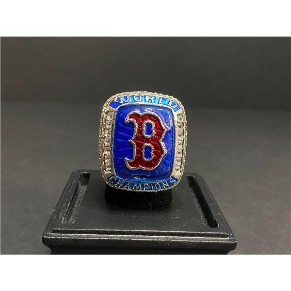 "BOSTON RED SOX 2018 MLB WORLD SERIES CHAMPIONSHIP REPLICA RING ""PEARCE"""
