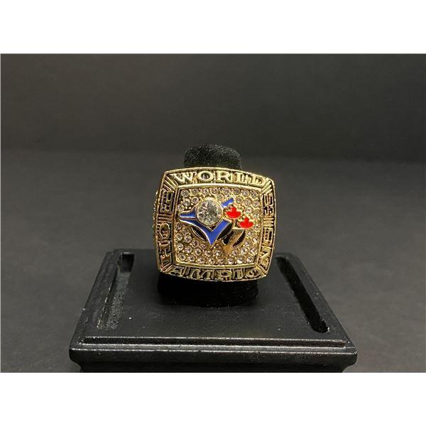 "TORONTO BLUE JAYS 1993 MLB WORLD SERIES CHAMPIONSHIP REPLICA RING ""GASTON"""