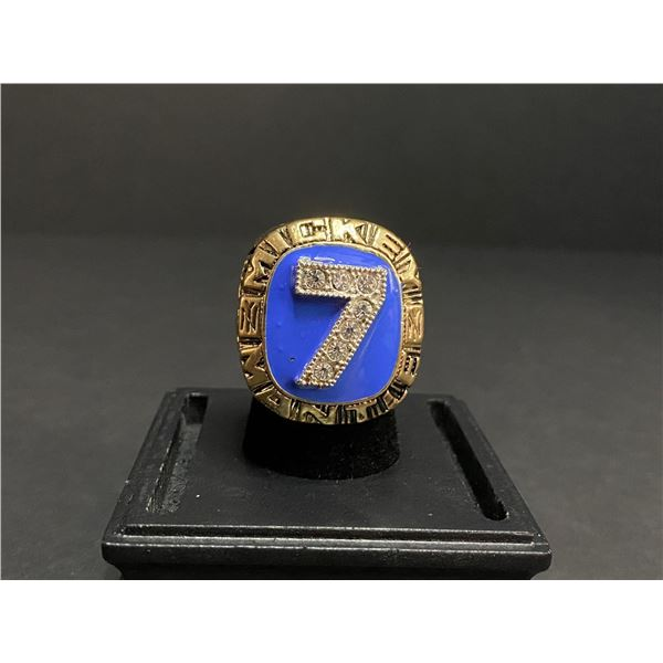 """MICKEY MANTLE 1956 MLB HALL OF FAME CHAMPIONSHIP REPLICA RING """"MANTLE"""""""