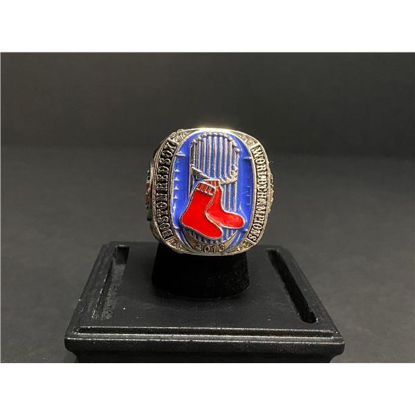 "BOSTON RED SOX 2013 MLB WORLD SERIES CHAMPIONSHIP REPLICA RING ""ORTIZ"""