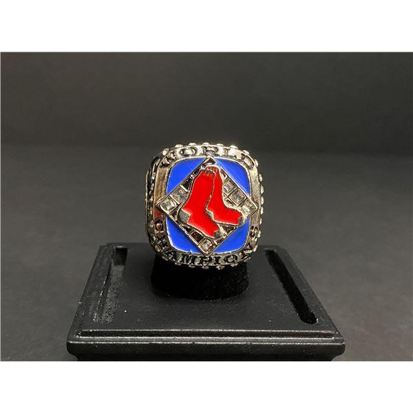 "BOSTON RED SOX 2007 MLB WORLD SERIES CHAMPIONSHIP REPLICA RING ""ORTIZ"""