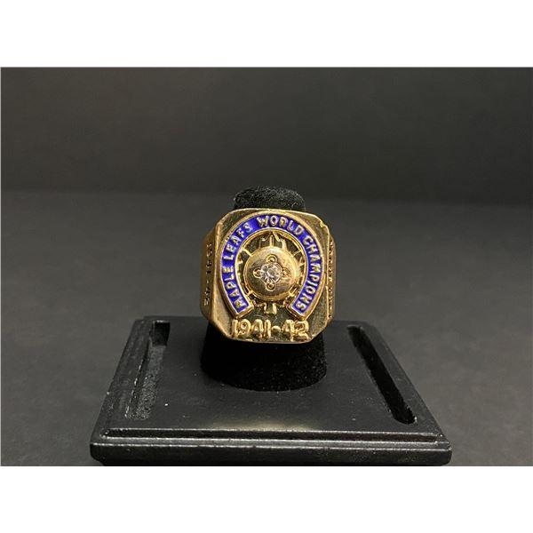 "TORONTO MAPLE LEAFS 1941-1942 NHL STANLEY CUP CHAMPIONSHIP REPLICA RING ""BRODA"""