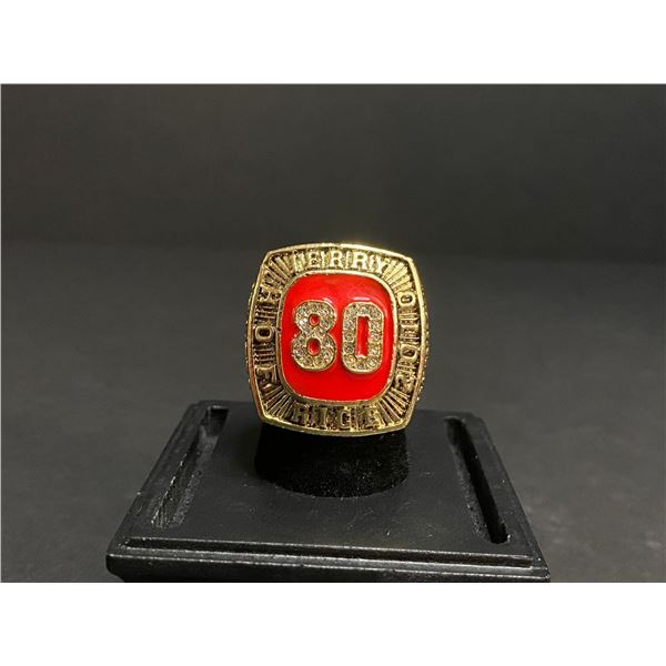 JERRY RICE 2010 NFL #80 HALL OF FAME CHAMPIONSHIP REPLICA RING
