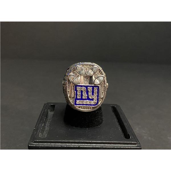 "NEW YORK GIANTS 2011 NFL SUPERBOWL CHAMPIONSHIP REPLICA RING ""MANNING"""