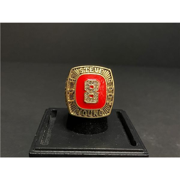 STEVE YOUNG 2005 NFL #8 HALL OF FAME CHAMPIONSHIP REPLICA RING