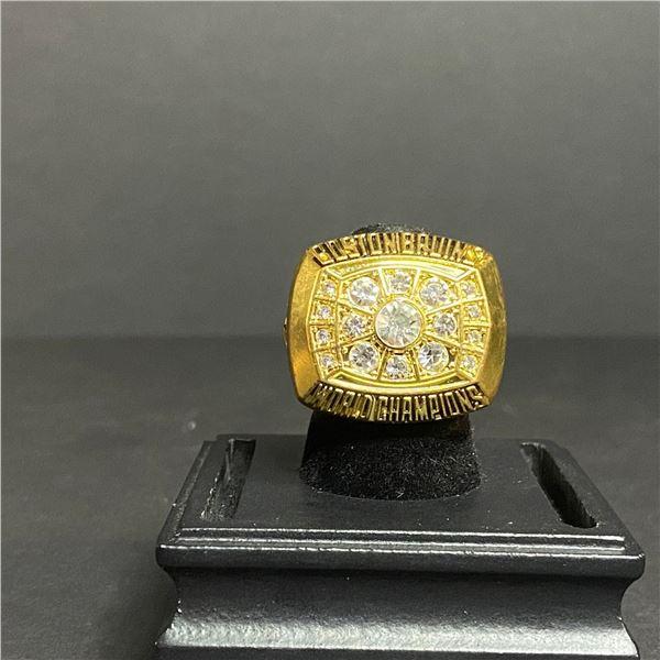 "BOSTON BRUINS 1972 NHL STANLEY CUP CHAMPIONSHIP REPLICA RING ""B.ORR"""