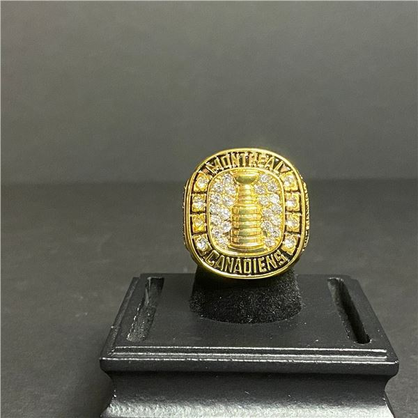 """MONTREAL CANADIENS 1959-60 STANLEY CUP CHAMPIONSHIP REPLICA RING """"RICHARD"""""""