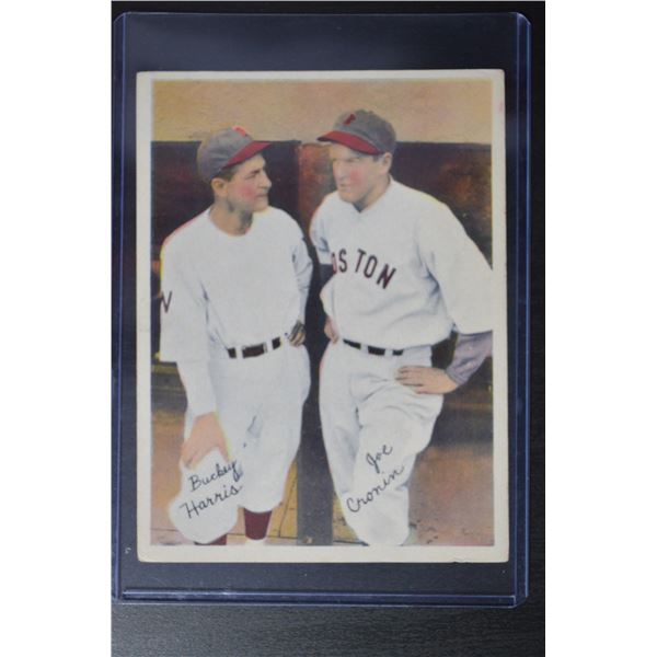 1936 R312 Pastel Photos #32 Bucky Harris/Joe Cronin