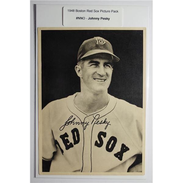 1948 Boston Red Socks Picture Pack - Johnny Pesky
