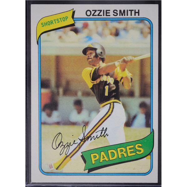 1980 Topps #393 Ozzie Smith