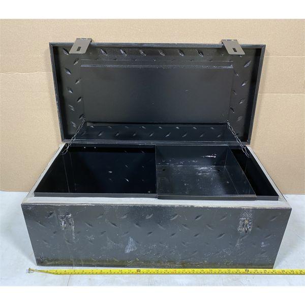 26 INCH CHECKER PLATE TOOL BOX