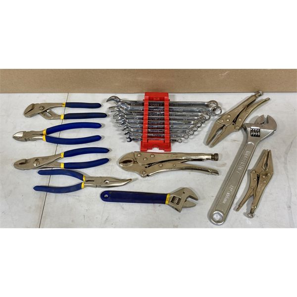 MASTERCRAFT - MISC HAND TOOLS - WRENCHES, PLIERS, ETC