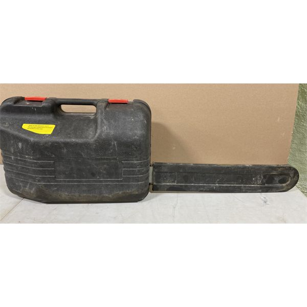 """FOREST KING 20"""" GAS CHAIN SAW WITH CARRY CASE"""