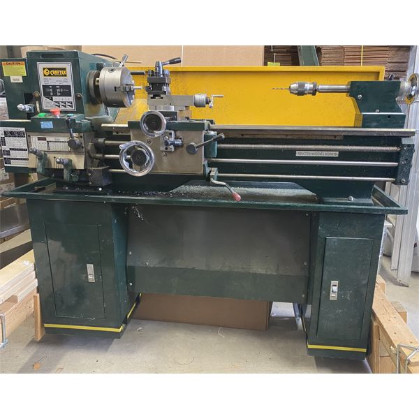 CRAFTEX MODEL CT041 LATHE - METAL & WOOD TABLES