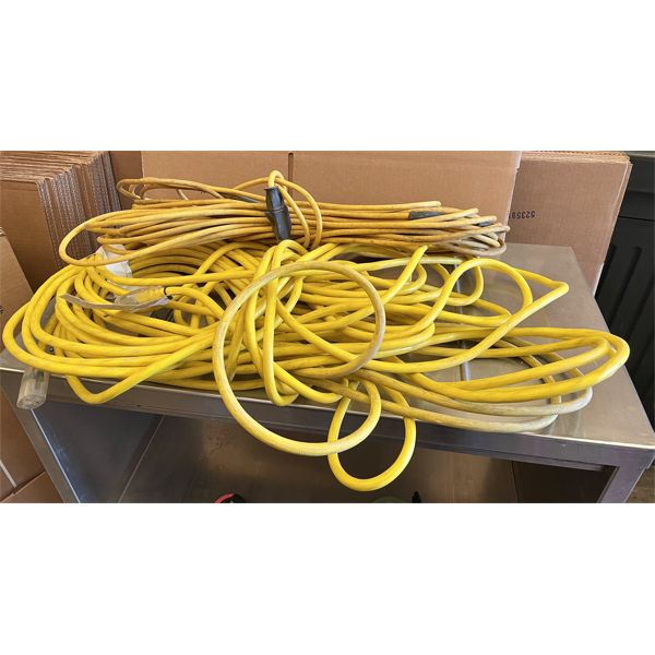 LOT OF 2 EXTENSION CORDS