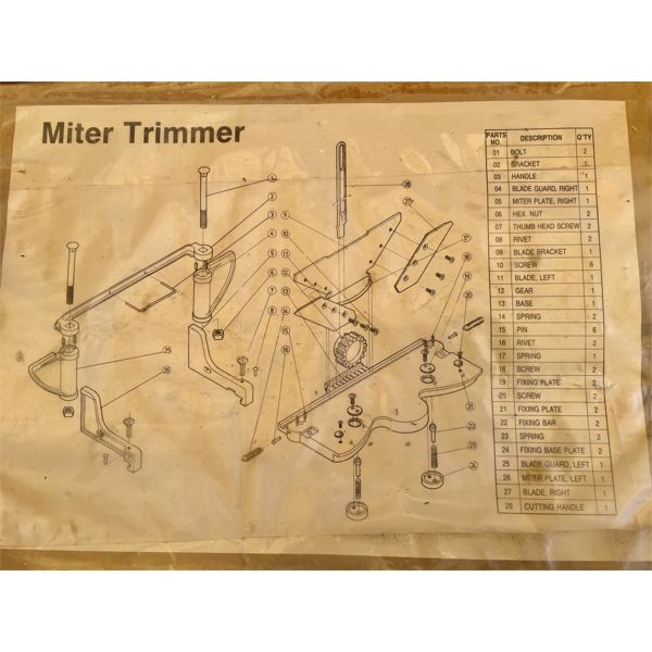 MITER TRIMMER - NEW IN BOX