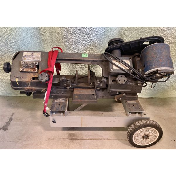 "KING METAL BAND SAW - 8"" BED - WORKING"
