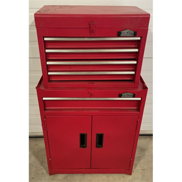 """TOOL BOX W/ CONTENTS - 37"""" H"""
