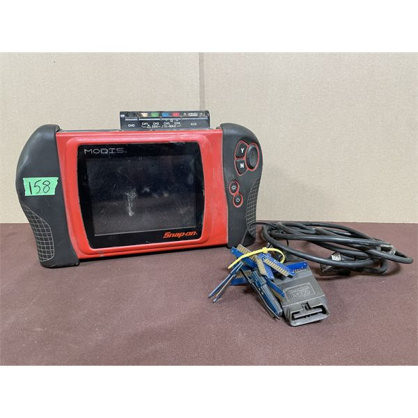 SNAP-ON MODIS MODEL EEMS300 SCANNER - WORKING - UPDATED TO 2010