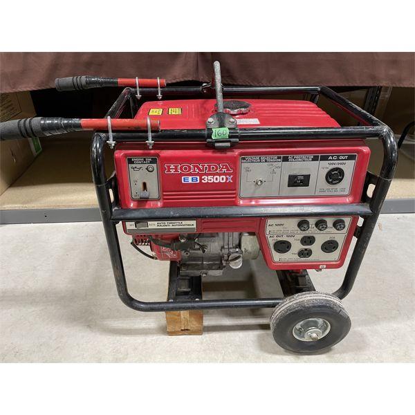 HONDA EB3500X GAS GENERATOR - RUNS WELL