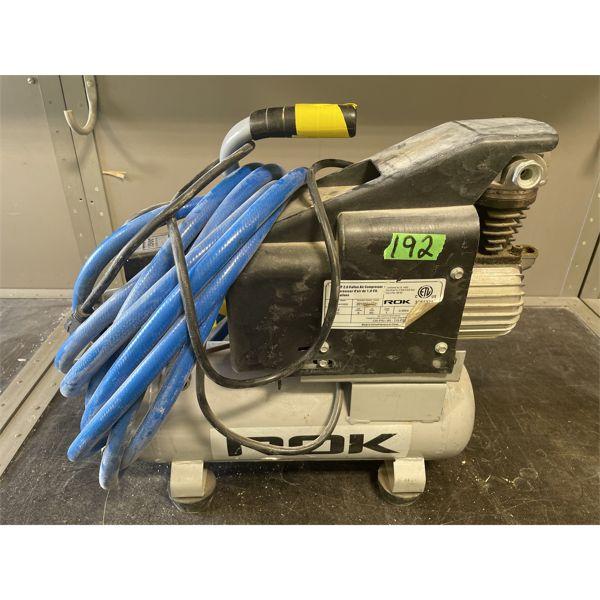ROK AIR COMPRESSOR W/ HOSE - 2 GAL