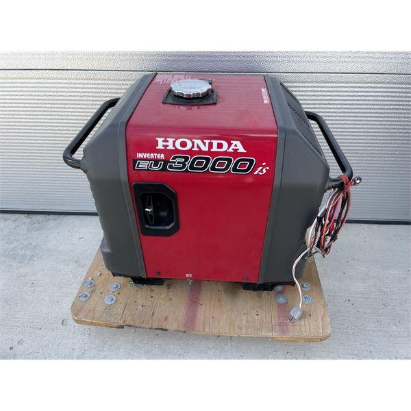 HONDA EU 3000 IS GENERATOR - MINIMAL USE