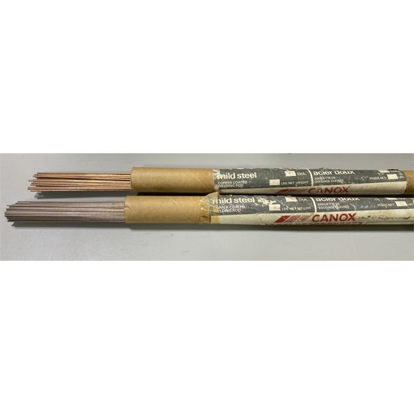 QTY OF COPPER COATED WELDING ROD