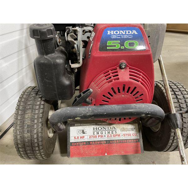 HONDA GC160 POWER WASHER - 2700 PSI
