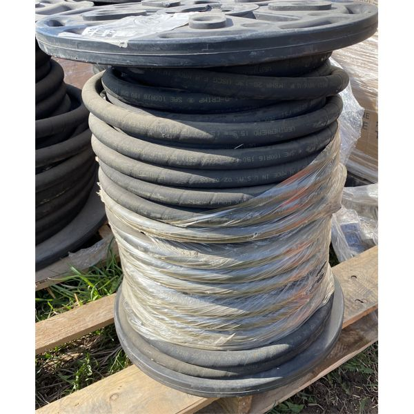 """ROLL OF 5/8"""" HYD HOSE - 250' - AS NEW ROLL"""