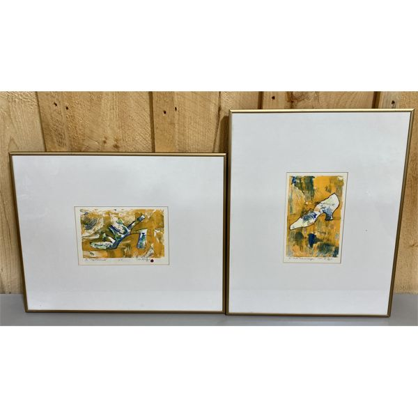 LOT OF 2 NAN GRIFFIN - HOT TIMES SLIPPER & SPELLBOUND - 5 X 8 INCHES
