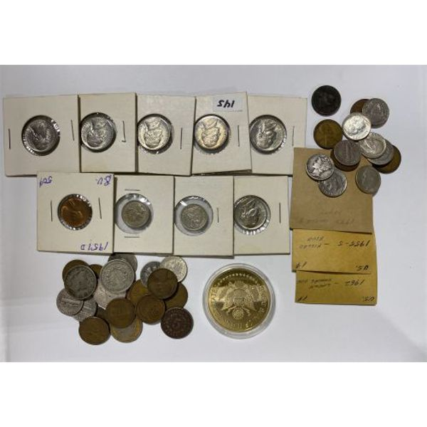 LARGE LOT OF US COINS