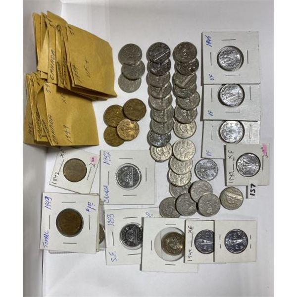 QTY OF CANADIAN NICKELS