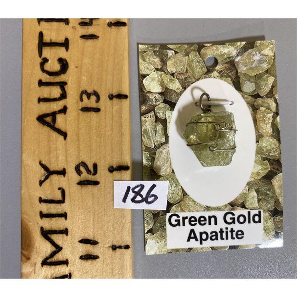 GREEN GOLD APATITE
