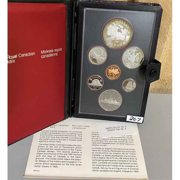 1981 CANADA DOUBLE DOLLAR PROOF SET