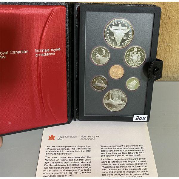 1982 CANADA DOUBLE DOLLAR PROOF SET