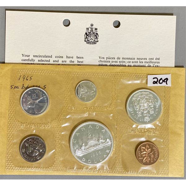 1965 CANADA PROOF LIKE SET