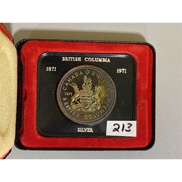 1971 CANADA PROOF SILVER DOLLAR