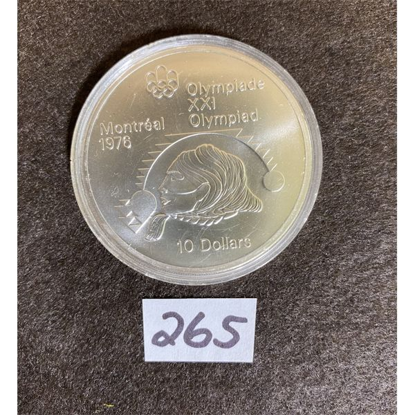 1976 MONTREAL OLYMPIC 10 DOLLAR COMMEMORATIVE COIN