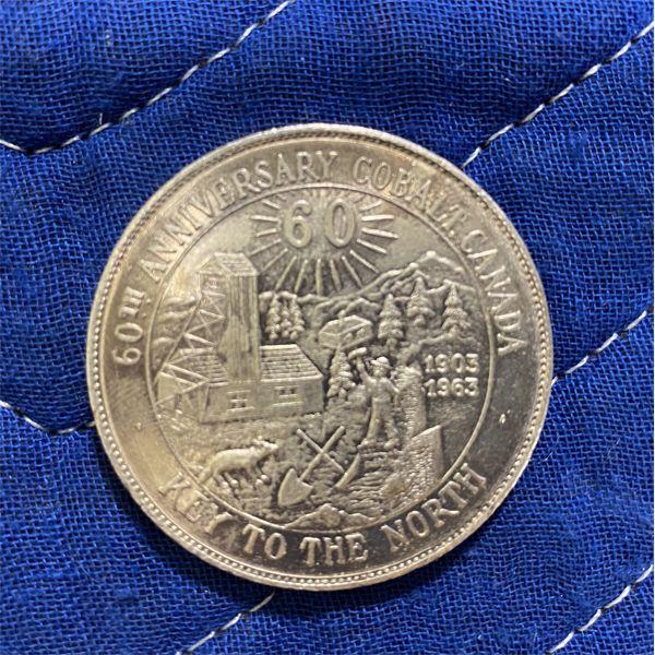 1963 COBALT SILVER COIN