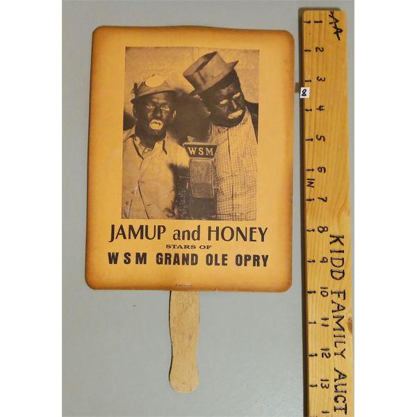 GRAND OLE OPRY PAPER FAN