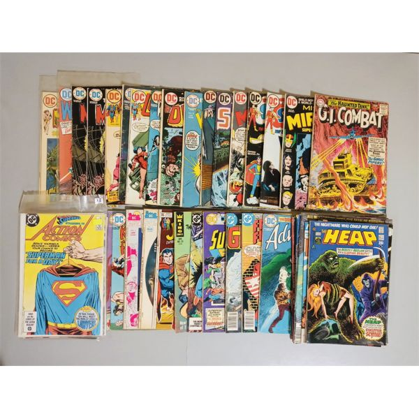 QTY OF DC AND OTHER COMIC BOOKS