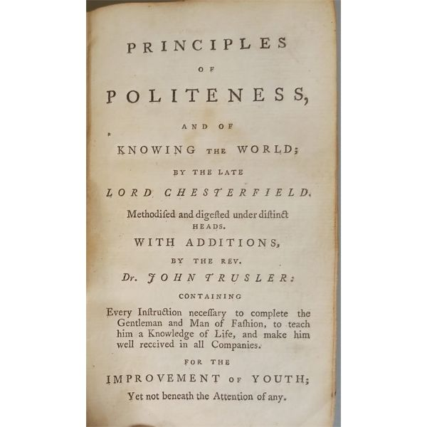 1792 THE YOUNG GENTLEMAN'S POCKET LIBRARY OF PARENTAL MONITOR